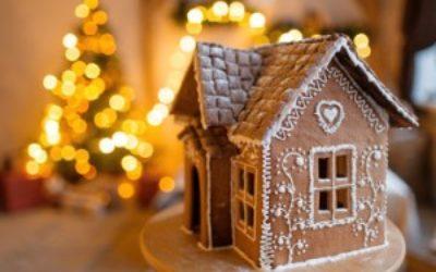 Домострой или как испечь новогодний пряничный домик своими руками