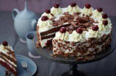 Классический шварцвальдский торт — оригинальный рецепт из Германии