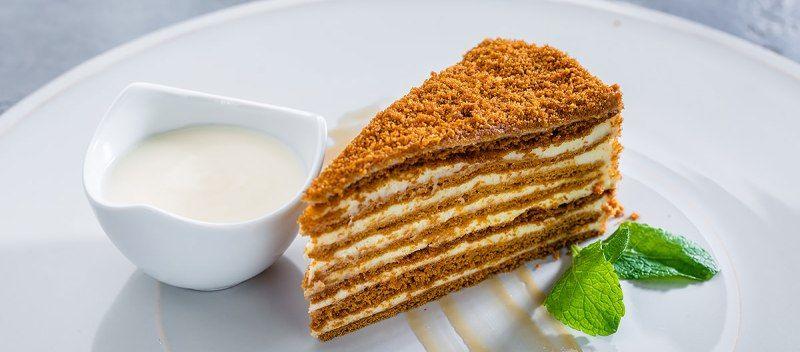 медовый торт по советскому ГОСТу