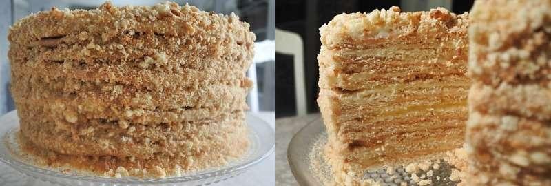 медовый торт сделан по советскому ГОСТу