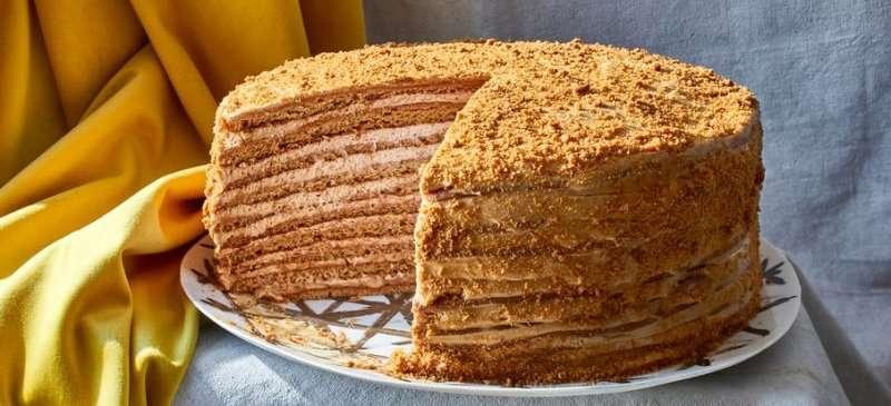 классический рецепт медового торта советского времени