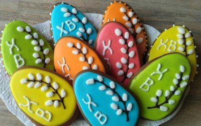 Как выпечь и украсить пасхальное печенье в домашних условиях
