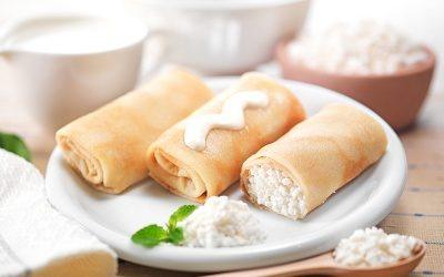 Вкусная начинка с творогом для блинов: 5 популярных рецептов