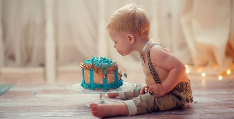торт на 1 годик мальчику своими руками рецепты с фото